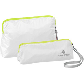 Eagle Creek Specter Wristlet Set white/strobe